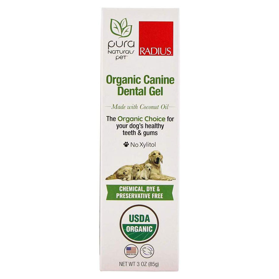 Pura Naturals Pet Organic Gel Dog Toothpaste