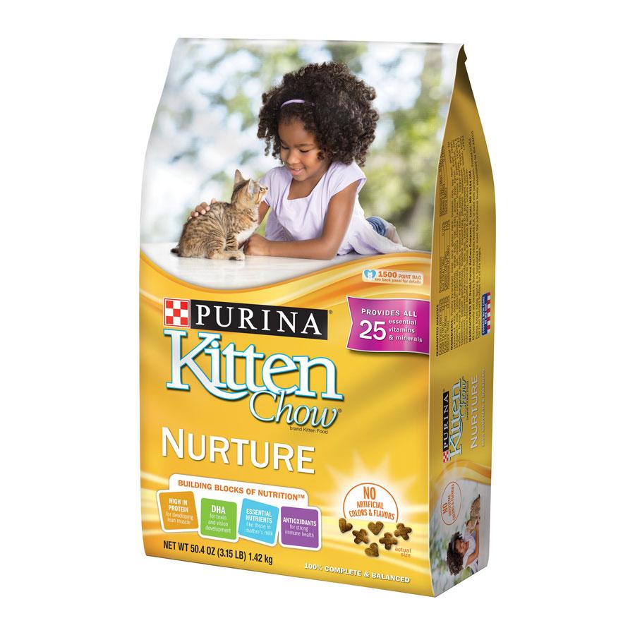 Purina Kitten Chow Nurturing Formula Dry Kitten Food
