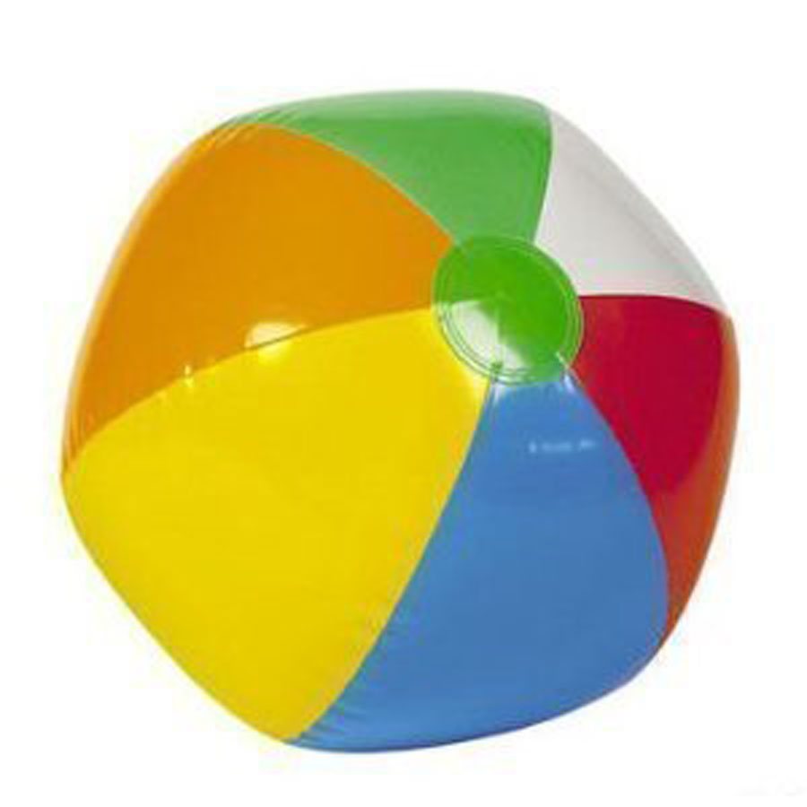 Big Mo 12-Pack Inflatable 16-Inch Rainbow Beach Ball