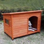 Rockever Weatherproof Insulated Wood Dog House