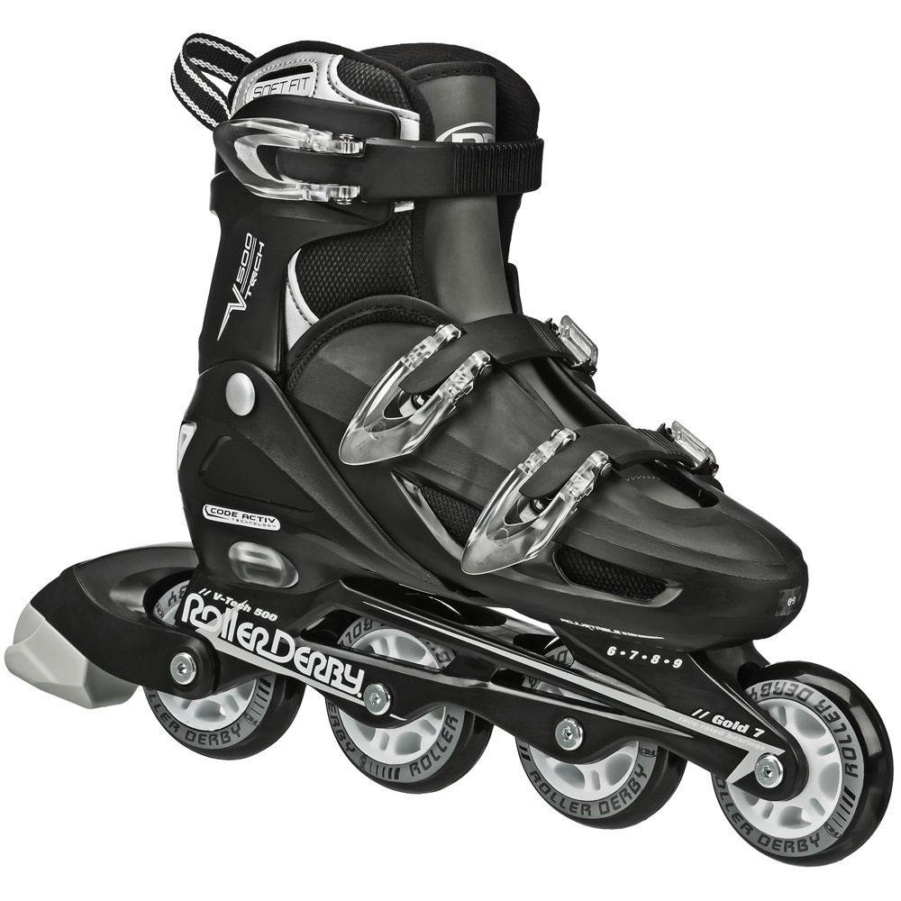 Roller Derby V500 Adjustable Men Inline Skates