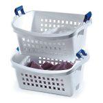 Rubbermaid 6-Pack Stack-N-Sort Nesting Laundry Basket