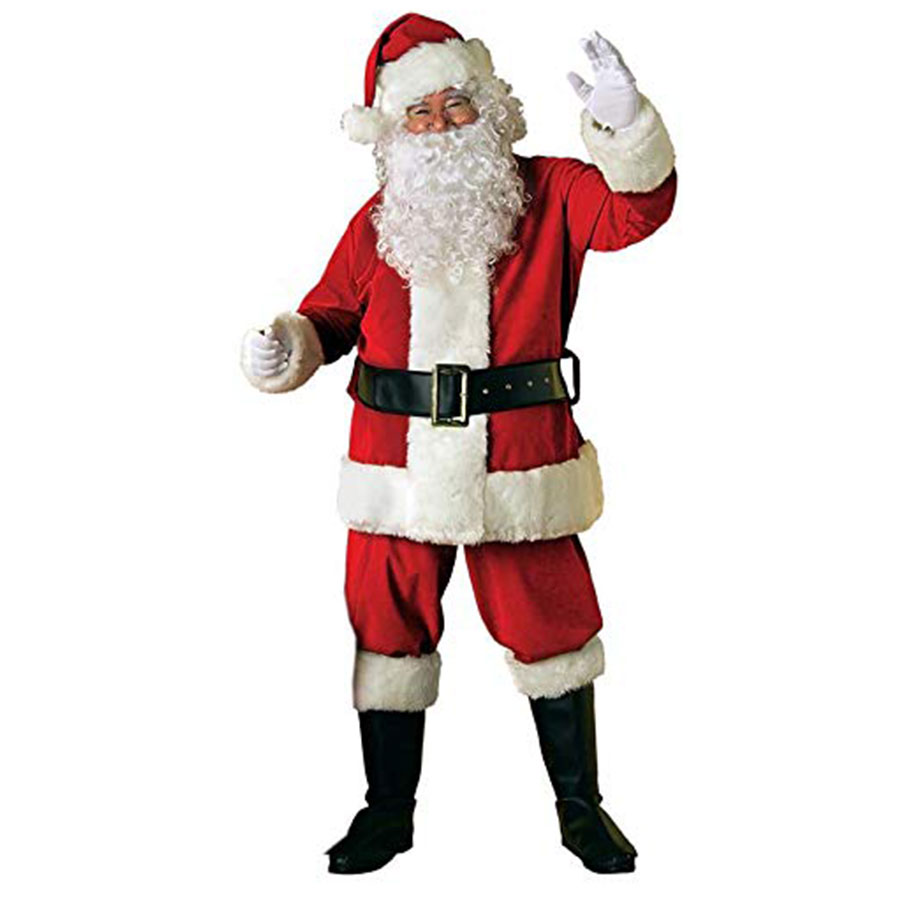 Rubie's Costume Adult Velvet Santa Suit