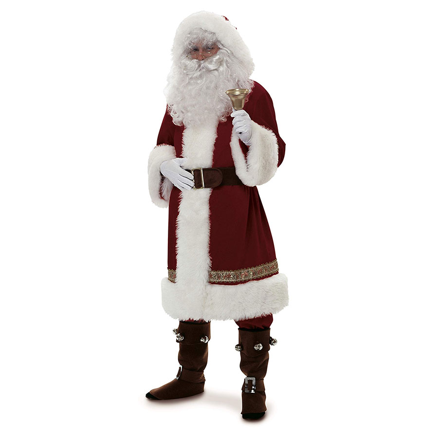 Rubie's Costume Deluxe Old-Time Santa Suit