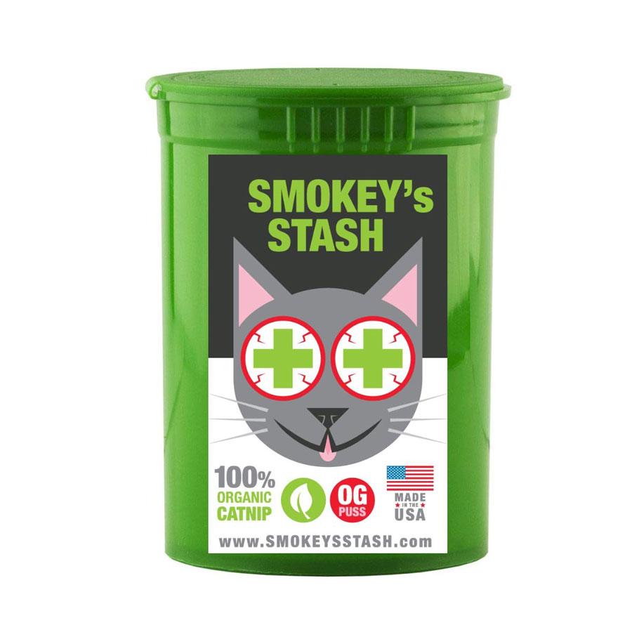 Smokey's Stash Pop Top Organic Catnip