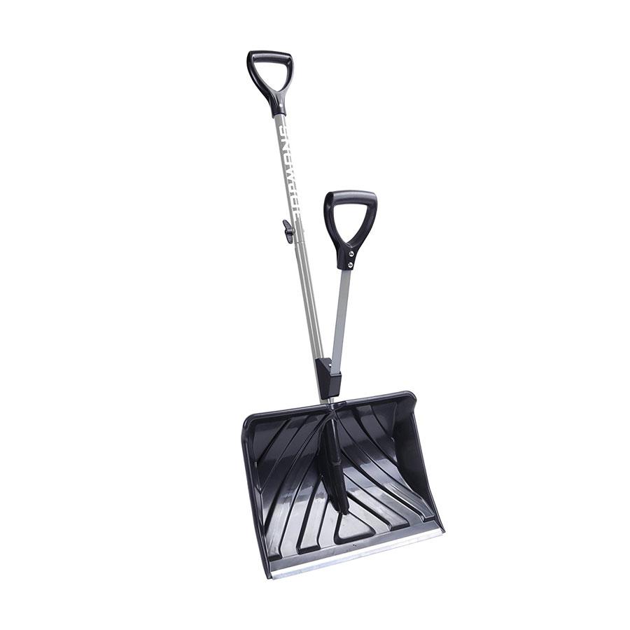 Snow Joe Shovelution SJ-SHLV01-GRY 18-Inch Snow Shovel