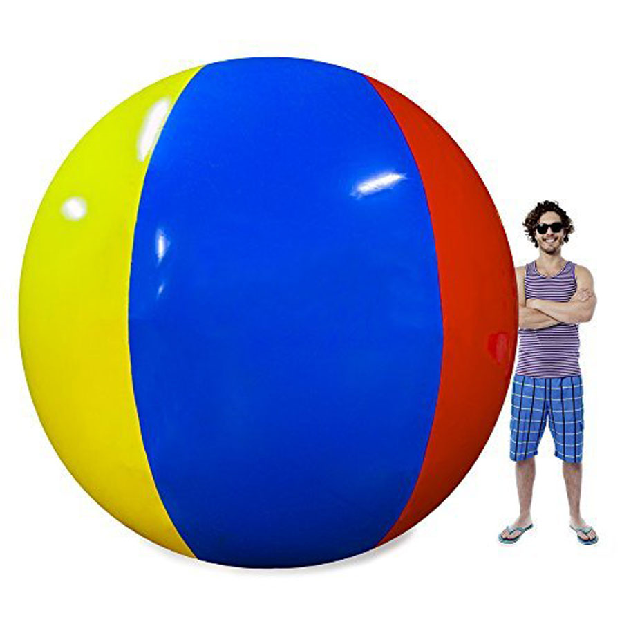Sol Coastal Beach Behemoth Giant 12-Foot Beach Ball