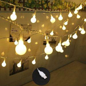 SpiritUp 100-LEDs Decorative Warm Christmas Lights