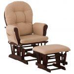 Stork Craft Hoop Glider Rocking Chair & Ottoman Set