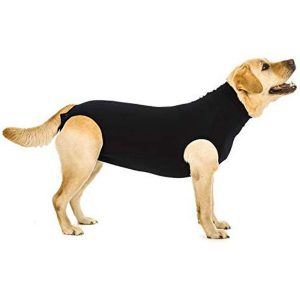 Suitical 3XS-to-2XL Lightweight Dog Recovery Suit