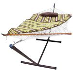 Sunnydaze Single Rope Hammock Stand Combo