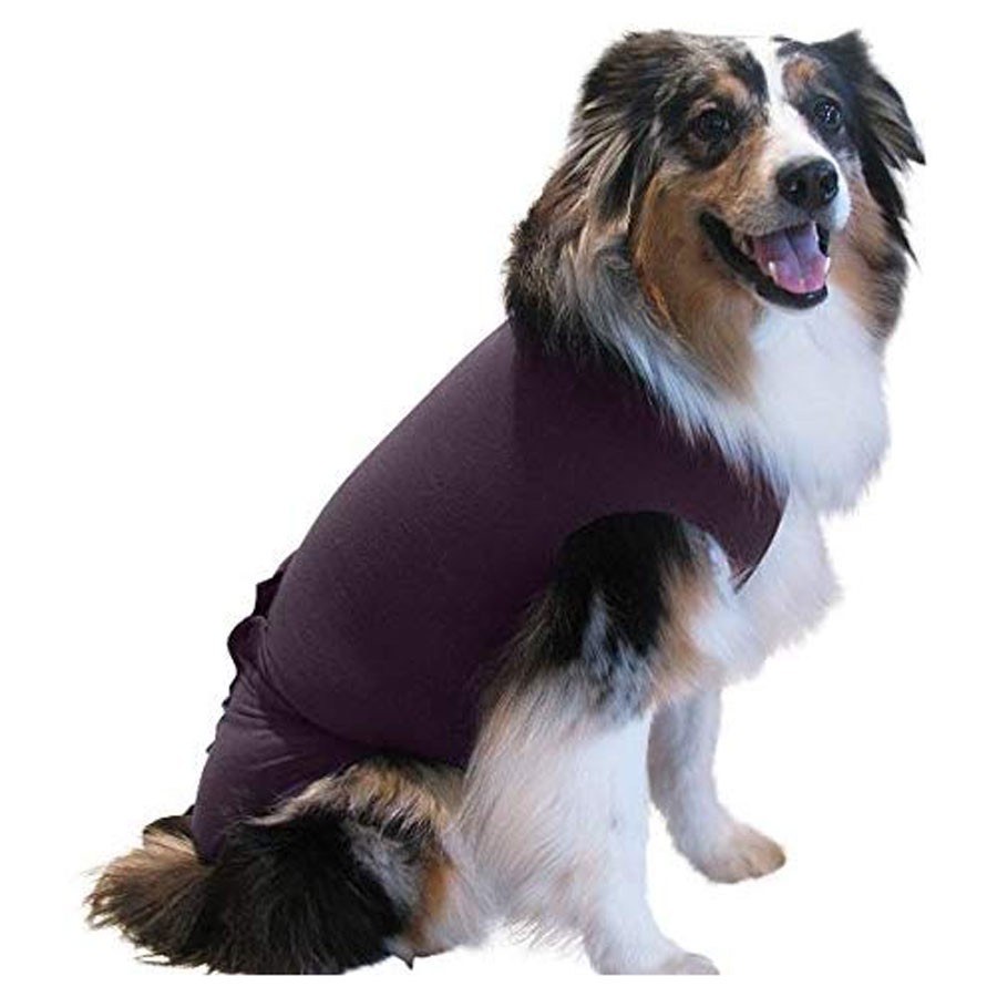 Surgi Snuggly S-to-2XL Wounds Dog Recovery Suit