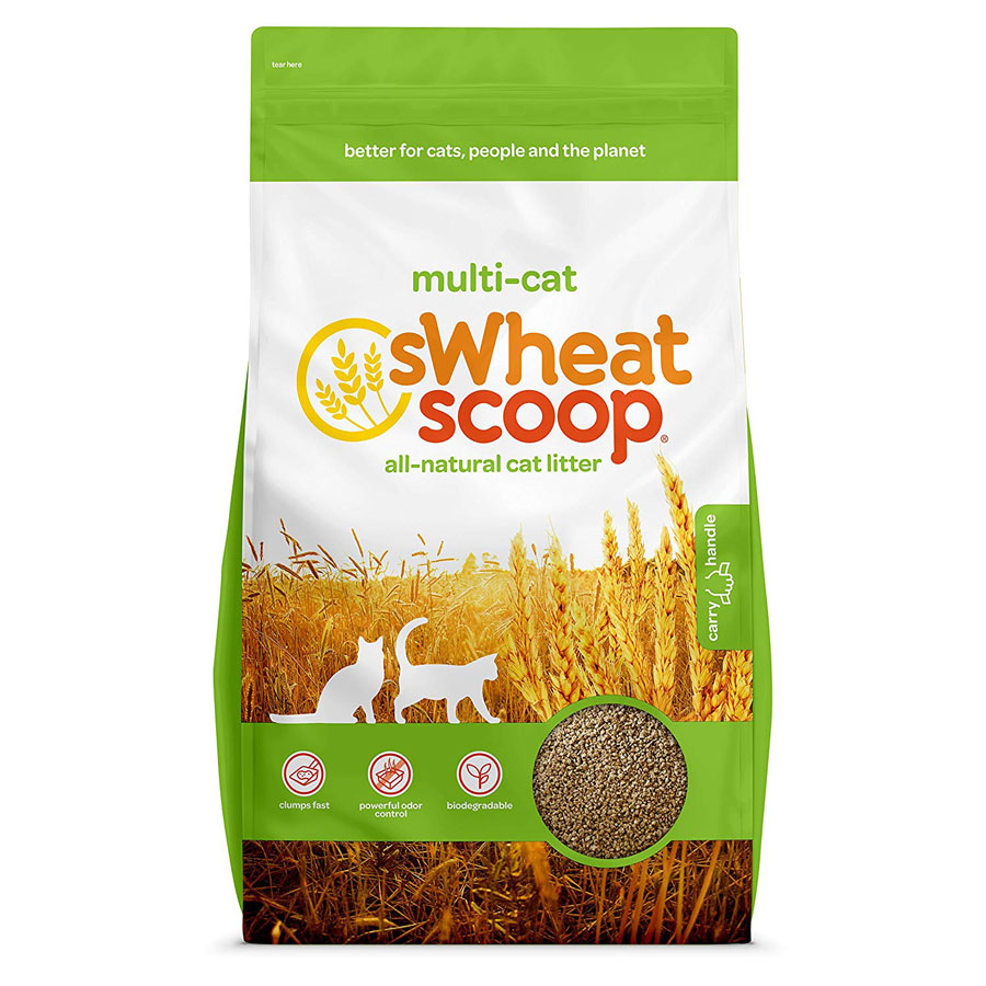 sWheat Scoop All-Natural Clumping Cat Litter