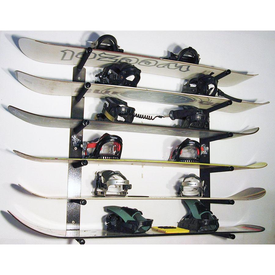 T-Rax Aluminum Snowboard Wall Mount