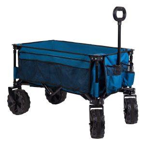 Timber Ridge Sturdy Folding Beach Cart