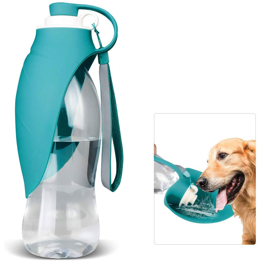 Tiovery Portable Outdoor Dog Water Bottle