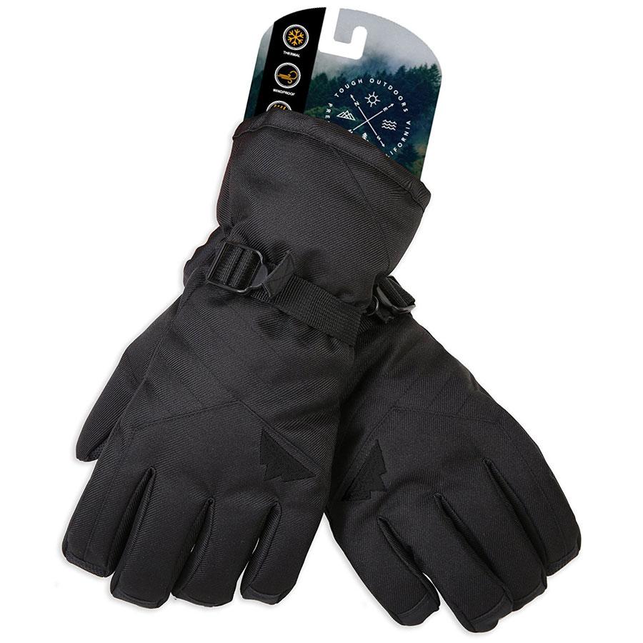 Tough Outdoors Touch Screen Ski Gloves