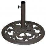 TropiShade 20″ Bronze Cast Iron Umbrella Stand