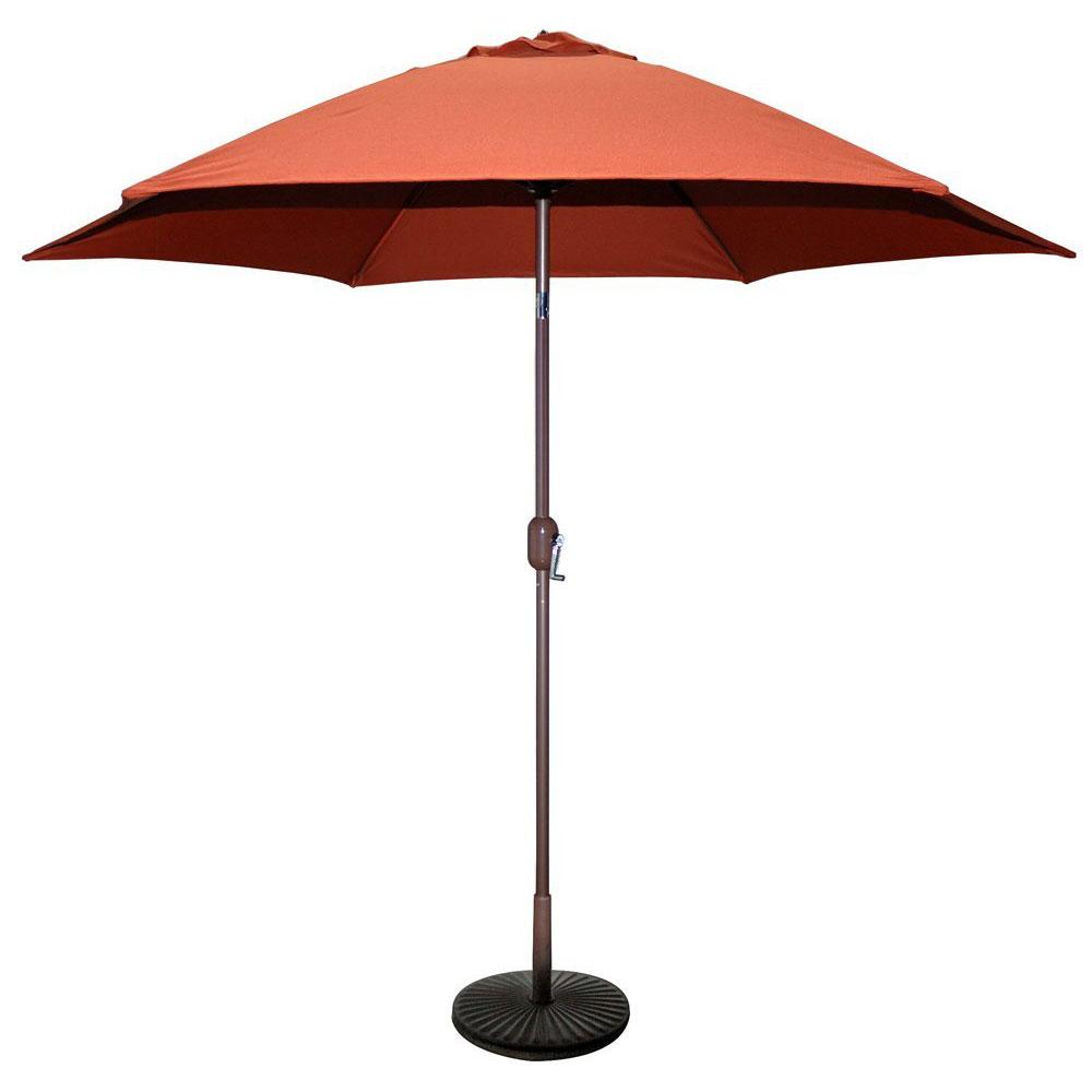 TropiShade 9′ Polyester Market Patio Umbrella