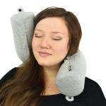 Twist Neck Chin Lumbar Memory Foam Travel Pillow