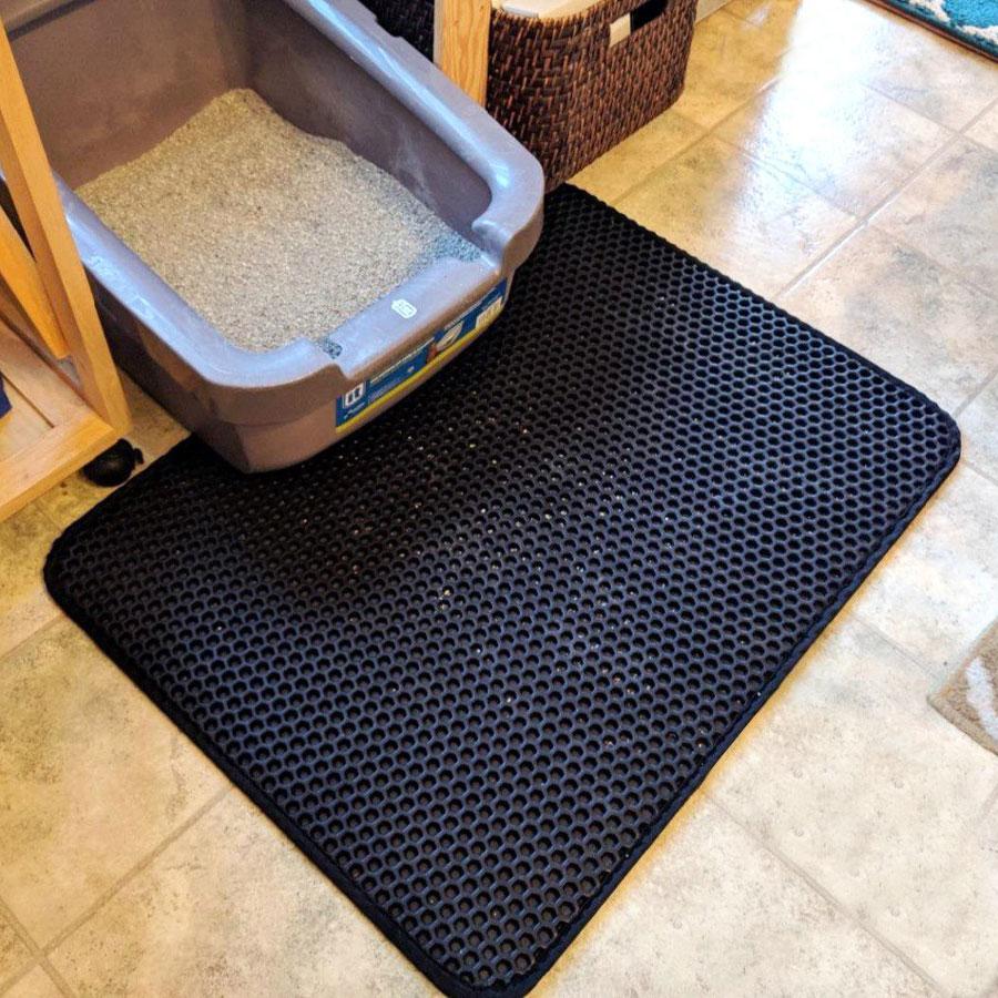 Waterproof Honeycomb Cat Litter Mat