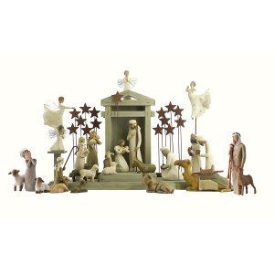 Willow Tree Complete 28-Piece Nativity Set