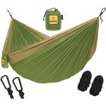 Wise Owl Outfitters Single & Double Camping Hammock