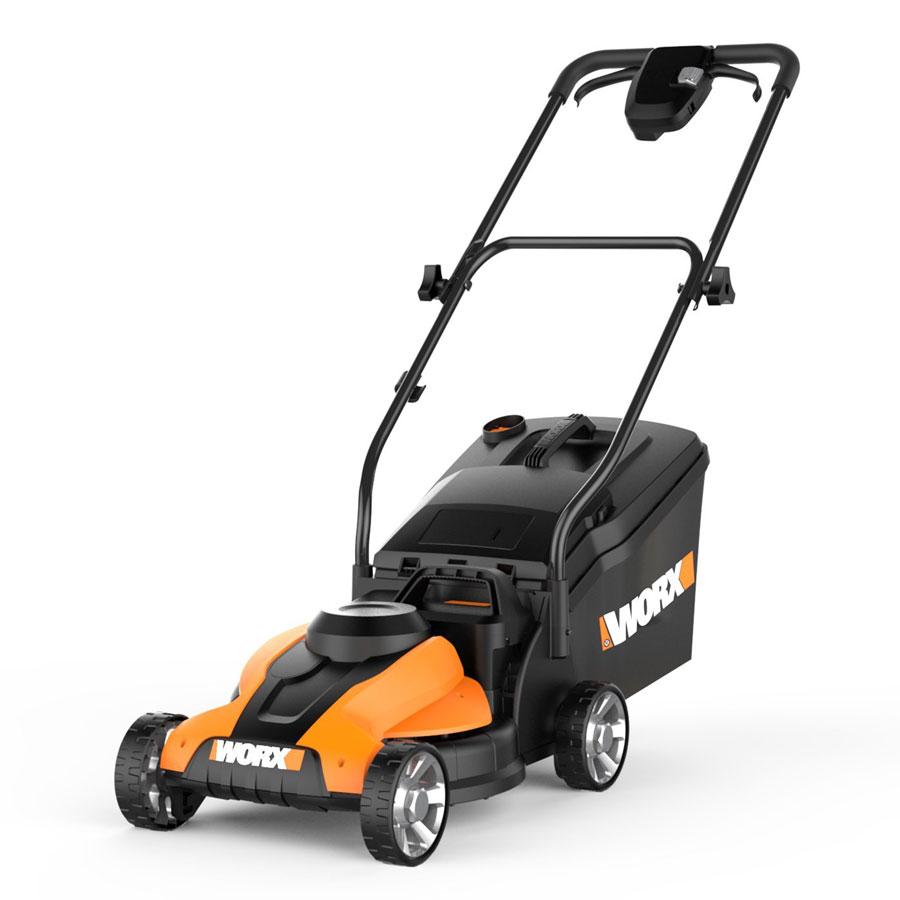 WORX WG775 24V Cordless 14-Inch Electric Lawn Mower