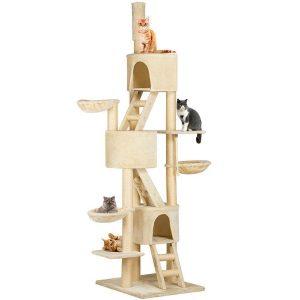 Go Pet Club 106-Inch Adjustable Cat Tree