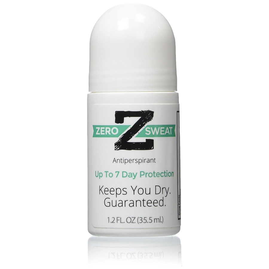 ZeroSweat Antiperspirant Up To 7 Day Protection Per Use
